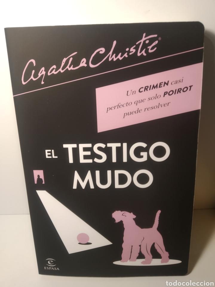 EL TESTIGO MUDO AGATHA CHRISTIE. EDITORIAL:ESPASA. TEMÁTICA:NOVELA NEGRA|NOVELAS DE DETECTIVE (Libros Nuevos - Literatura - Narrativa - Novela Negra y Policíaca)