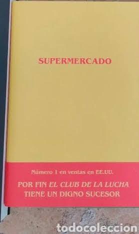 SUPERMERCADO BOBBY HALL. EL CLUB DE LA LUCHA (Libros Nuevos - Literatura - Narrativa - Novela Negra y Policíaca)