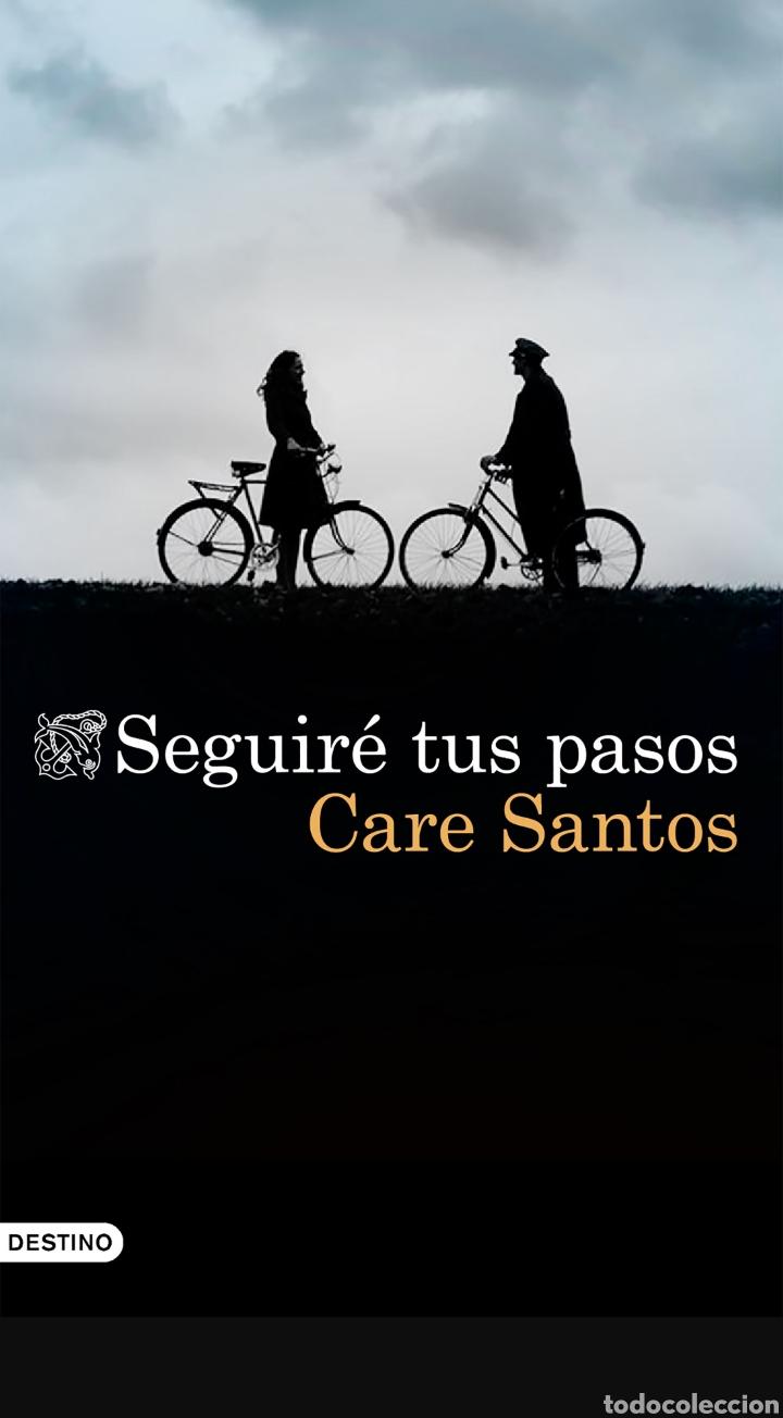 SEGUIRÉ TUS PASOS CARE SANTOS (Libros Nuevos - Literatura - Narrativa - Novela Negra y Policíaca)