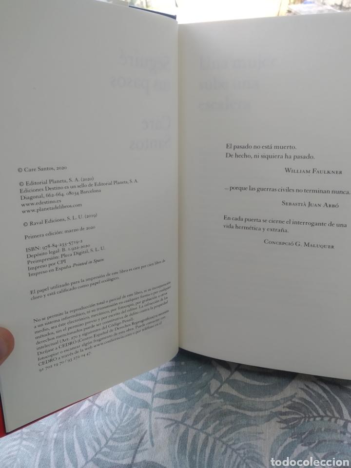 Libros: Seguiré tus pasos Care Santos - Foto 2 - 286494083