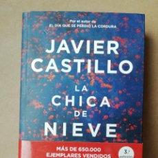 Libros: LA CHICA DE NIEVE. JAVIER CASTILLO - NUEVO. Lote 287317983