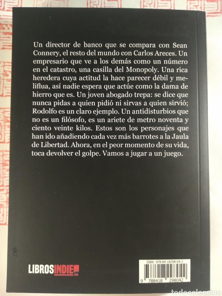 Libros: JAULA. Rafa Vera - Foto 2 - 287935728