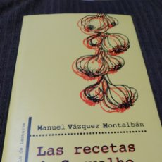 Libros: MANUEL VÁZQUEZ MONTALBÁN. Lote 289023843