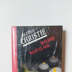 Libros: MALDAD BAJO EL SOL AGATHA CHRISTIE NUEVO PRECINTADO 1991 CIRCULO DE LECTORES. Lote 295282738