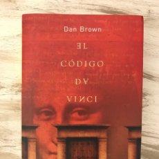 """Libros: LIBRO """"EL CODIGO DA VINCI"""" DE DAN BROWN. Lote 295777923"""