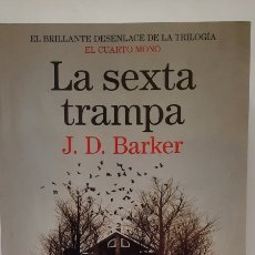 Libros: LA SEXTA TRAMPA DE J.D. BARKER. Lote 295876578
