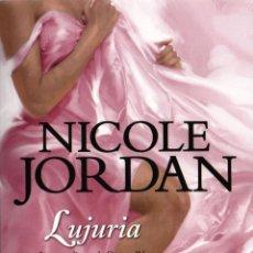 Libros: LUJURIA DE NICOLE JORDAN - BOOKET, PLANETA, 2013 (NUEVO). Lote 40834820