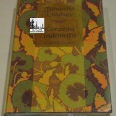 Livres: CORAZON INDÓMITO - JOHANNA LINDSEY - CÍRCULO DE LECTORES 1999 - A ESTRENAR - PRECINTADO. Lote 43193703