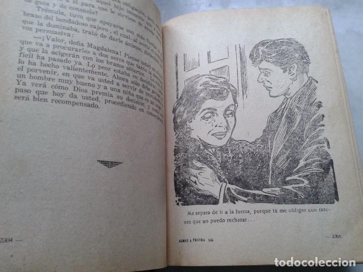 Libros: ALMAS A PRUEBA. NOVELA POR FÁSCICULOS ENCUADERNADA EN DOS TOMOS. SOBRE 1930 - Foto 4 - 78399877