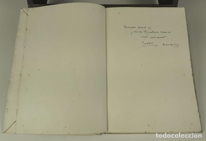 Libros: EL SOMRIURE DE SA BOQUERA. EJEMPLAR Nº 161. JOSEP PALAU. EDIC. S. A. HORTA. 1949. - Foto 2 - 79843033