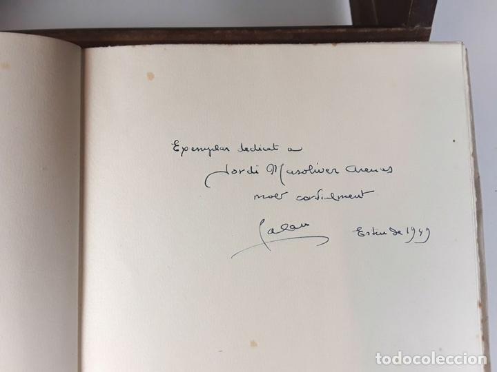 Libros: EL SOMRIURE DE SA BOQUERA. EJEMPLAR Nº 161. JOSEP PALAU. EDIC. S. A. HORTA. 1949. - Foto 3 - 79843033