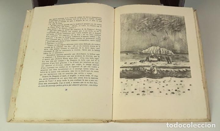 Libros: EL SOMRIURE DE SA BOQUERA. EJEMPLAR Nº 161. JOSEP PALAU. EDIC. S. A. HORTA. 1949. - Foto 7 - 79843033