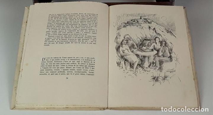 Libros: EL SOMRIURE DE SA BOQUERA. EJEMPLAR Nº 161. JOSEP PALAU. EDIC. S. A. HORTA. 1949. - Foto 8 - 79843033