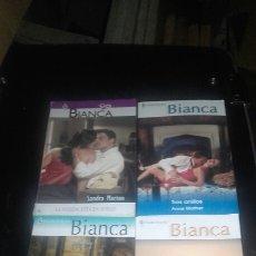 Libros: LOTE NOVELAS BIANCA. Lote 93156660