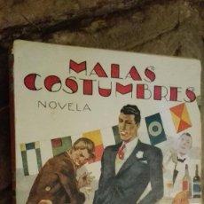 Libros: MALAS COSTUMBRES - EL CABALLERO AUDAZ. Lote 112318183