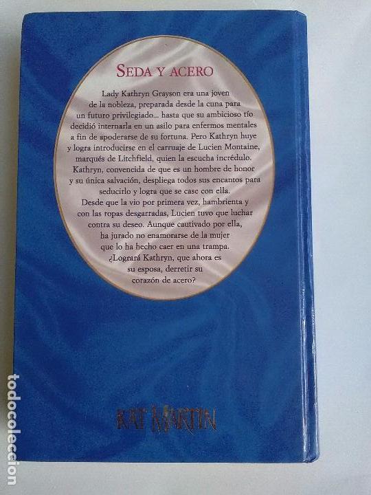 Libros: Seda y acero - Foto 2 - 113283083