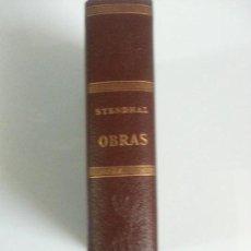 Libros: STENDHAL OBRAS. Lote 120568307