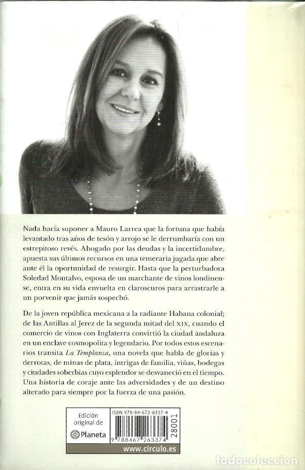 Libros: LA TEMPLANZA - MARÍA DUEÑAS - EDITORIAL CIRCULO DE LECTORES - NUEVO CON PRECINTO - Foto 2 - 128719983