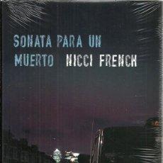 Libros: SONATA PARA UN MUERTO - NICCI FRENCH - EDITORIAL CIRCULO DE LECTORES - NUEVO CON PRECINTO. Lote 128720359
