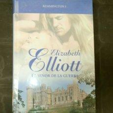 Libros: REMMINGTON I ELIZABETH ELLIOTT EL SEÑOR DE LA GUERRA GRANDES SAGAS ROMANTICAS. Lote 131254520