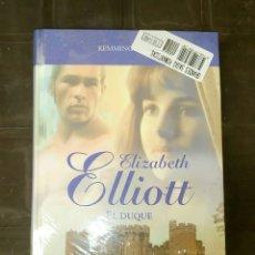 Libros: REMMINGTON III ELIZABETH ELLIOTT EL DUQUE GRANDES SAGAS ROMANTICAS SELLADO. Lote 131256366