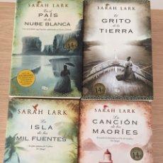 Libros: 4 LIBROS DE SARAH LARK - EN PERFECTO ESTADO. Lote 132377530