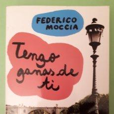 Libros: LIBRO TENGO GANAS DE TI. Lote 141242352