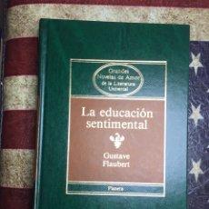 Libros: LA EDUCACIÓN SENTIMENTAL. Lote 141283744