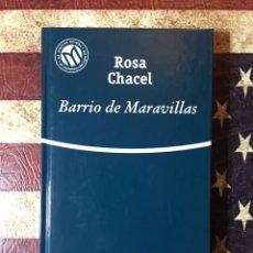Libros: BARRIO MARAVILLAS. Lote 142124528