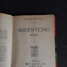 Libros: PIERRE LHANDE. NOVELA AMBIENTADA EN EL PAÍS VASCO.. Lote 144318678