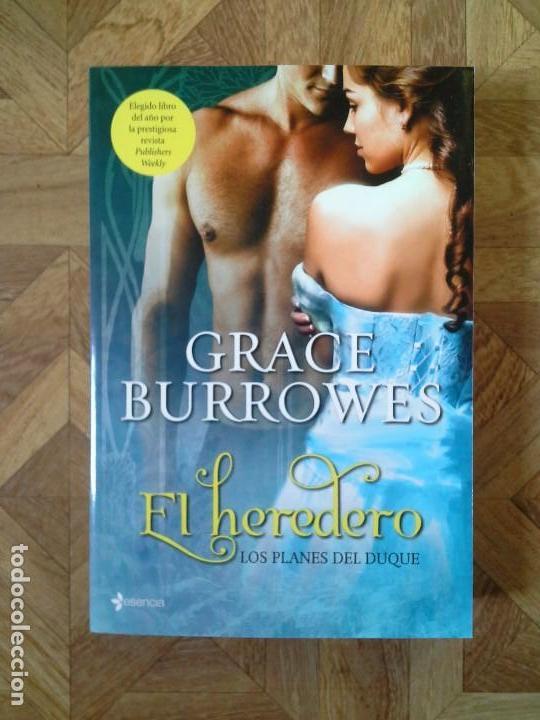 GRACE BURROWES - EL HEREDERO (Libros Nuevos - Literatura - Narrativa - Novela Romántica)