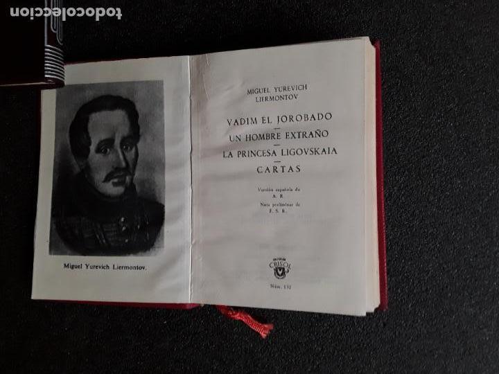 Libros: Liermontov. Novelas .Teatro. Cartas. (Crisol 132) - Foto 3 - 146620590