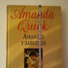 Libros: AMANDA QUICK AMANTES Y SABUESOS-B.S.A EDICIONES 2006. Lote 149838174