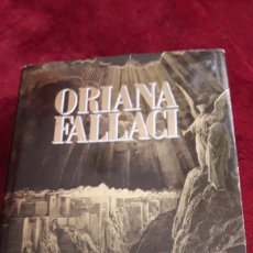 Libros: INSHALLAH. ORIANA FALLACI. 700 PÁGS. Lote 152085040