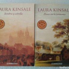 Libros: 2 NOVELAS LAURA KINSALE. Lote 153827778