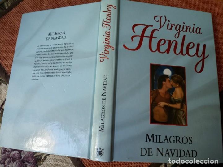 LIBRO. MILAGRO DE NAVIDAD, DE VIRGINIA HENLEY (Libros Nuevos - Literatura - Narrativa - Novela Romántica)