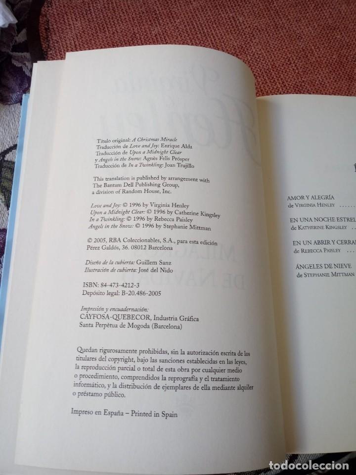 Libros: LIBRO. MILAGRO DE NAVIDAD, DE VIRGINIA HENLEY - Foto 2 - 155715122