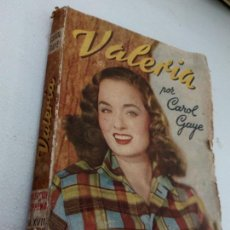Libros: VALERIA - CAROL GAYE COLECCION SUPRERMA NUMERO 17: . Lote 170306500