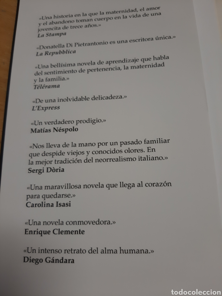 Libros: 2018 1 edición La Retornada Donatella di Pietrantonio historia maternidad el amor el abandono - Foto 2 - 171297274