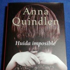 Libros: NUEVO. HUIDA IMPOSIBLE. ANNA QUINDLEN. TAPA DURA. Lote 180148397