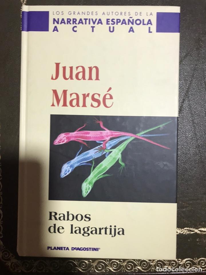RABOS DE LAGARTIJA. JUAN MARSE (Libros Nuevos - Literatura - Narrativa - Novela Romántica)