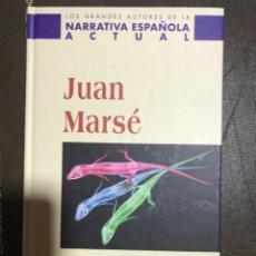 Libros: RABOS DE LAGARTIJA. JUAN MARSE. Lote 182108555