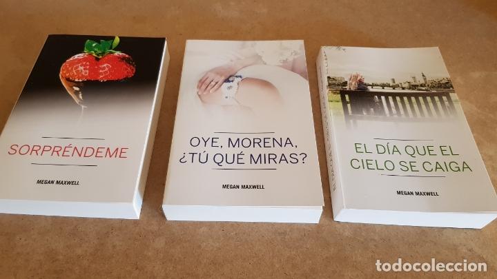 MEGAN MAXWELL / CONJUNTO DE 3 LIBROS NUEVOS. (Libros Nuevos - Literatura - Narrativa - Novela Romántica)