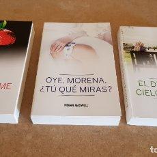 Libros: MEGAN MAXWELL / CONJUNTO DE 3 LIBROS NUEVOS.. Lote 182965781