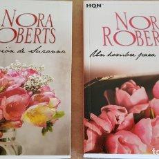 Libros: NORA ROBERTS / CONJUNTO DE 2 LIBROS NUEVOS.. Lote 182966580