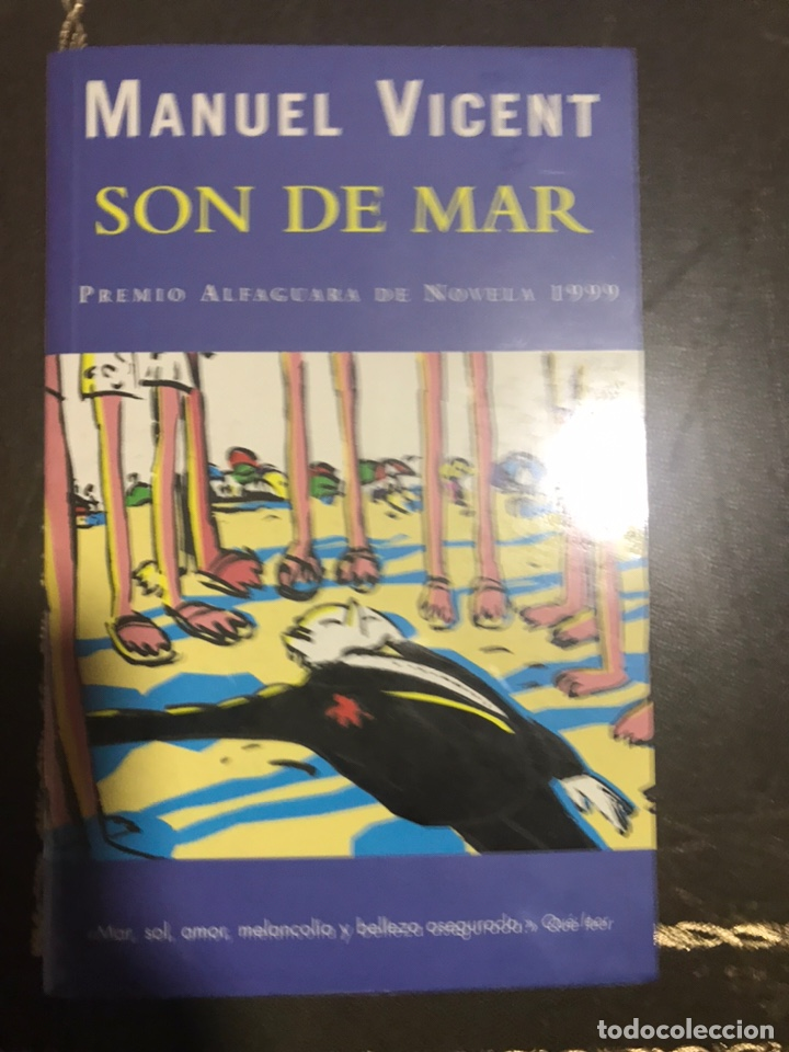 Libros: SON DE MAR MANUEL VICENT - Foto 1 - 183429245
