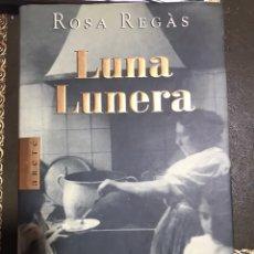 Libros: LUNA LUNERA ROSA REGAS. Lote 183608842