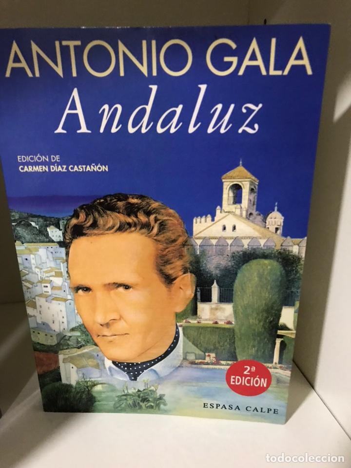 ANDALUZ ANTONIO GALA (Libros Nuevos - Literatura - Narrativa - Novela Romántica)