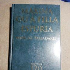 Libros: NUEVO EN EL PLÁSTICO. MAXINA OU A FILLA ESPURIA. MARCIAL VILLADARES. TAPA DURA. EN GALLEGO. Lote 184151662