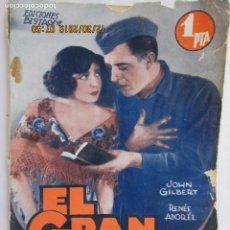 Libros: EL GRAN DESFILE , JOHN GILBERT EDICIONES BISTAGNE - LA NOVELA SEMANAL CINEMATOGRÁFICA . Lote 189585493